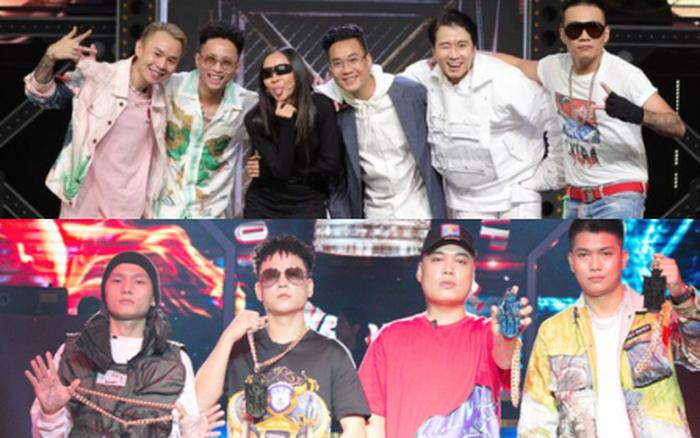 "Giám khảo ""Rap Việt"" vs ""King of Rap"""